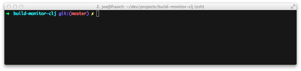 default prompt on Zsh